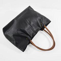 新品レザートートバックカバン鞄サファリブラック革サロンEXILEフーガボブス