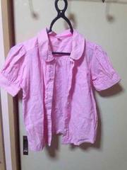 ピンクシャツ(*^^*)