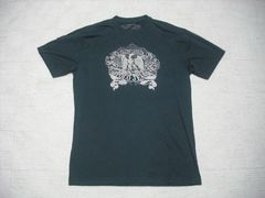 63 男 ラルフローレン ポロジーンズ 黒 半袖Tシャツ M