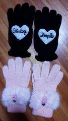 メゾピアノ&シャーリーテンプル 手袋