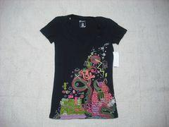 89 女 ZOO YORK ズーヨーク 黒 Tシャツ S