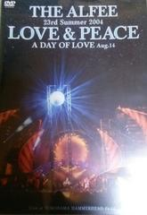 DVD THE ALFEE アルフィー 23rd Summer 2004 LOVE&PEACE A DAY OF