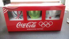 コカコーラ 当選品☆オリジナル オリンピック協賛記念アルミタンブラー