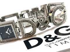 極美品 ドルチェ&ガッバーナ/D&G 定価4.3万 ブレス 腕時計