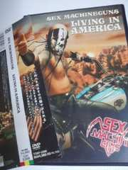 DVDLIVING IN AMERICA SEX MACHINEGUNS送料込み