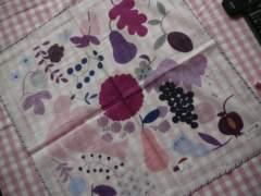 ブルーミング中西ハンカチ1枚紫系カラーオンリーエムワイ
