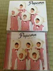 Popcorn 初回限定盤(絵本+ステッカー2枚付き)スリーブ仕様!