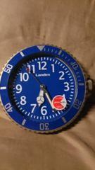 Landex壁掛時計!人気のブルー♪