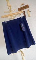 FlLA150cm上品清楚な紺色スカート