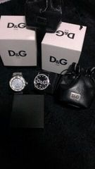 D&G ドルガバ 時計2つset オマケ付き中古