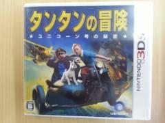3DSソフト タンタンの冒険 中古 美品