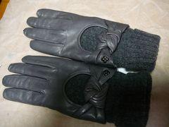 アンテプリマG羊皮革手袋ニットインナー21M