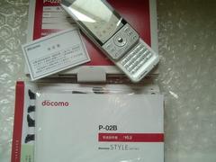 *P-02B/P02B* 美品☆☆*。.:*電池新品