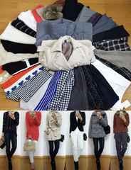 ブランド25点/総額26万円◆ダウン・コート・ニット・パンツ入◆福袋