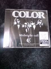 COLOR/Midnight call新品未開封DVD付