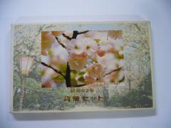 大特年!昭和62年 桜の通り抜け 貨幣セット 1987年
