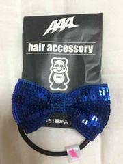 AAA★ヘアアクセサリー★青