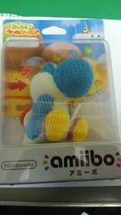 新品 amiibo  アミーボ あみぐるみヨッシー みずいろ
