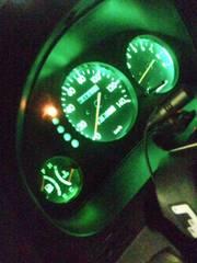 スバルプレオRS/LSメーター照明球@LED@セット綺麗な緑PLEO*RSリミテッド2もグリーン