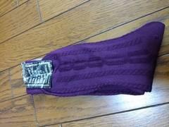 新品★『ワインレッド? 靴下』27�pくらい〜(^^)