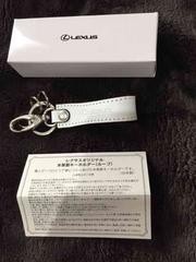 レクサス牛革新品未使用限定キーホルダー☆