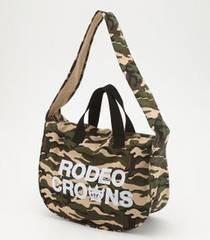 新品RODEOCROWNS2wayキャンバスバッグ