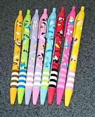 ディズニー ボールペン  8本