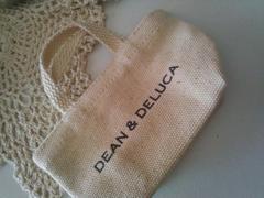 DEAN&DELUCA(ディーン&デルーカ)☆ナチュラル・ミニミニトートバッグ