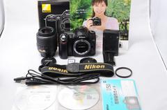 即使用可能! NIKON ニコン D50 VR手振れ補正レンズ!
