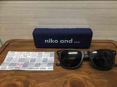 niko and…サングラス 新品同様