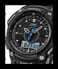 ■■新品♪OHSENデュアルコアスポーツ腕時計★デジタルアナログ2
