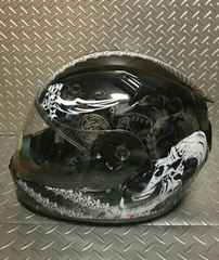 グラフィックヘルメット 新古品 美品