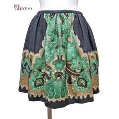 新品レッドヴァレンティノRED VALENTINOスカート グレー38