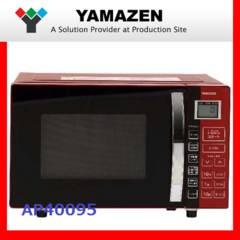 送料無料 新品 赤い電子オーブンレンジ YAMAZEN YRC-R(16L)