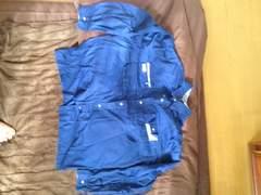 大きいサイズ2 作業服 ネイビー色の