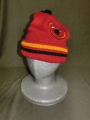 USA購入 老舗【Mitchell & Ness】NBA【Miami Heat】ロゴ刺繍CAP