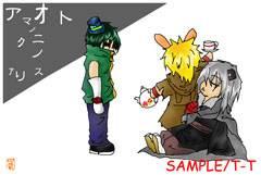 ◆自作ポストカード/創作アリス/帽子屋