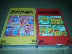 希少カセットテープ  KUWATA  BAND ROCK CONCERT