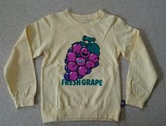 ����i��X-Girl Stages��Grape L/S Tee��6T