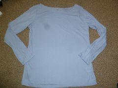 美品♪ユニクロ♪薄手シンプルロンT長袖Tシャツ♪LLサイズ