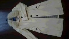 BURBERRYブルーレーベル☆ホワイトコート