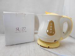 ☆0801☆1スタ☆ソレイユ 電気湯沸しケトル SL-27 キッチン家電