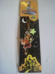 ディズニー ハロウィン ミニーマウス ストラップ 暗闇で星が光る