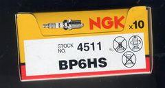 スパークプラグ BP6HS10本セット