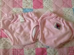 トレーニングパンツ 80 2枚セット 女の子 ピンク