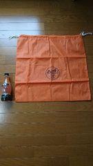 HERMESエルメス 鞄バック入れるオレンジ布 バーキン
