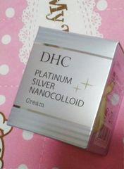 DHC☆プラチナシルバーナノコロイドクリーム♪PA