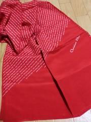 クリスチャンディオール/Dior ロゴ総柄ストールスカーフ