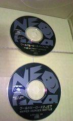 ☆ネオジオCDソフト2本セット☆ワールドヒーローズ2 JET/ワールドヒーローズ パーフェクト☆