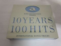 CD「10 YEARS 100 HITS」AVEX 10TH anniversary presents 2枚組